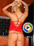 Brooke Marks In A Tiny Red G String