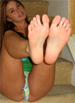 Kari's Feet Self Pics