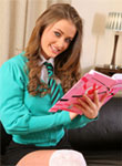 Jess Impiazzi Reading Upskirt