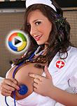September Carrino Busty Naughty Nurse