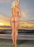 Anikka Albrite Sunset Nudes On Inthecrack